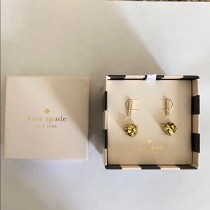 Kate Spade Post Earring Set